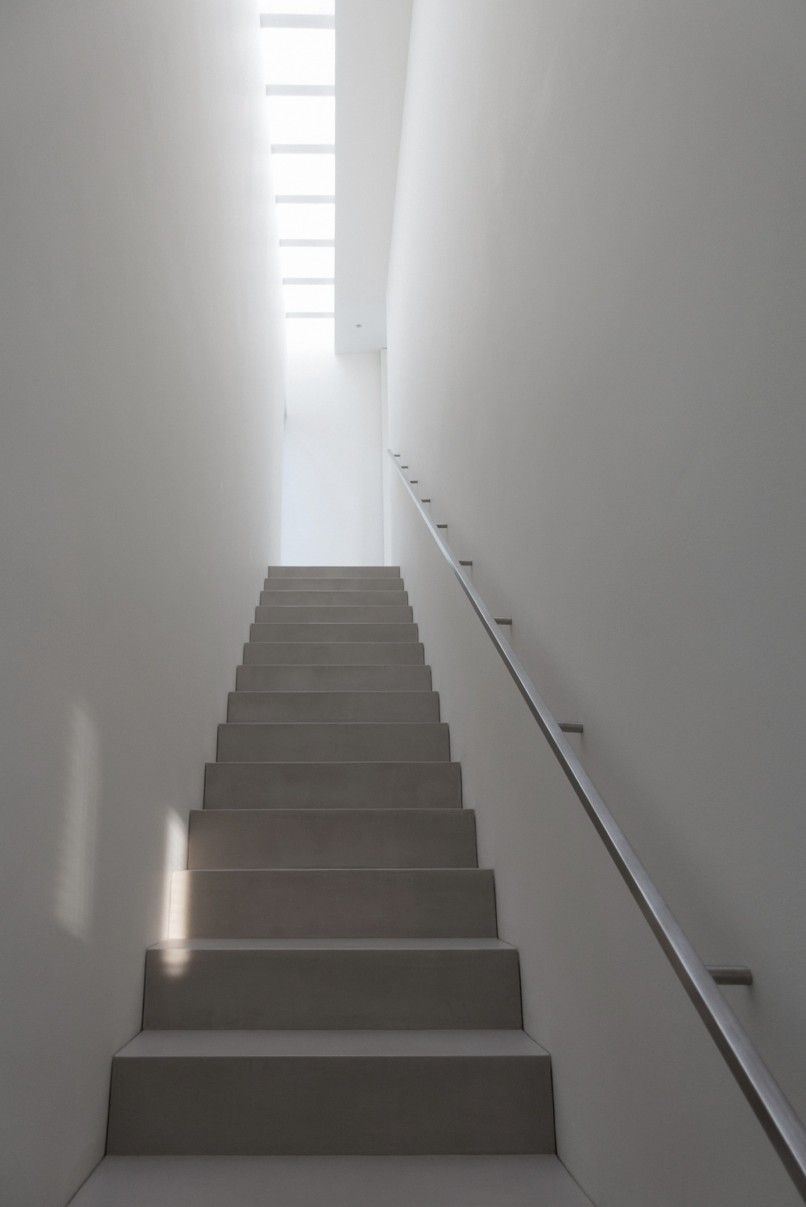 Best Stairway With Skylight Paros House Iii By John Pawson 400 x 300