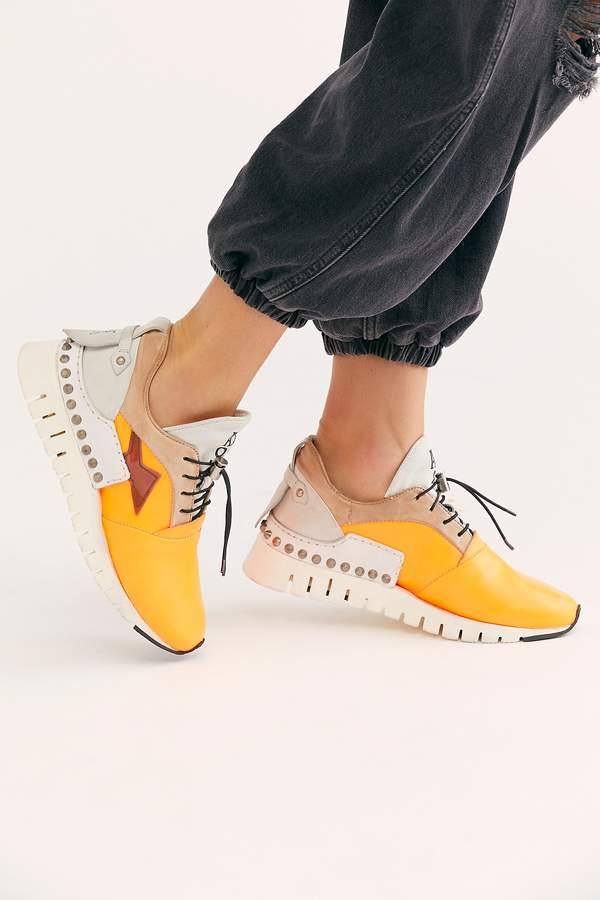 A.S.98 Capri Distressed Sneaker | High top shoes