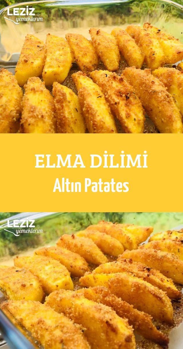 Elma Dilimi Altın Patates #applerecipes