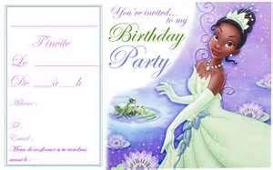 Princess And The Frog Free Printable Birthday Invitation Ddataover