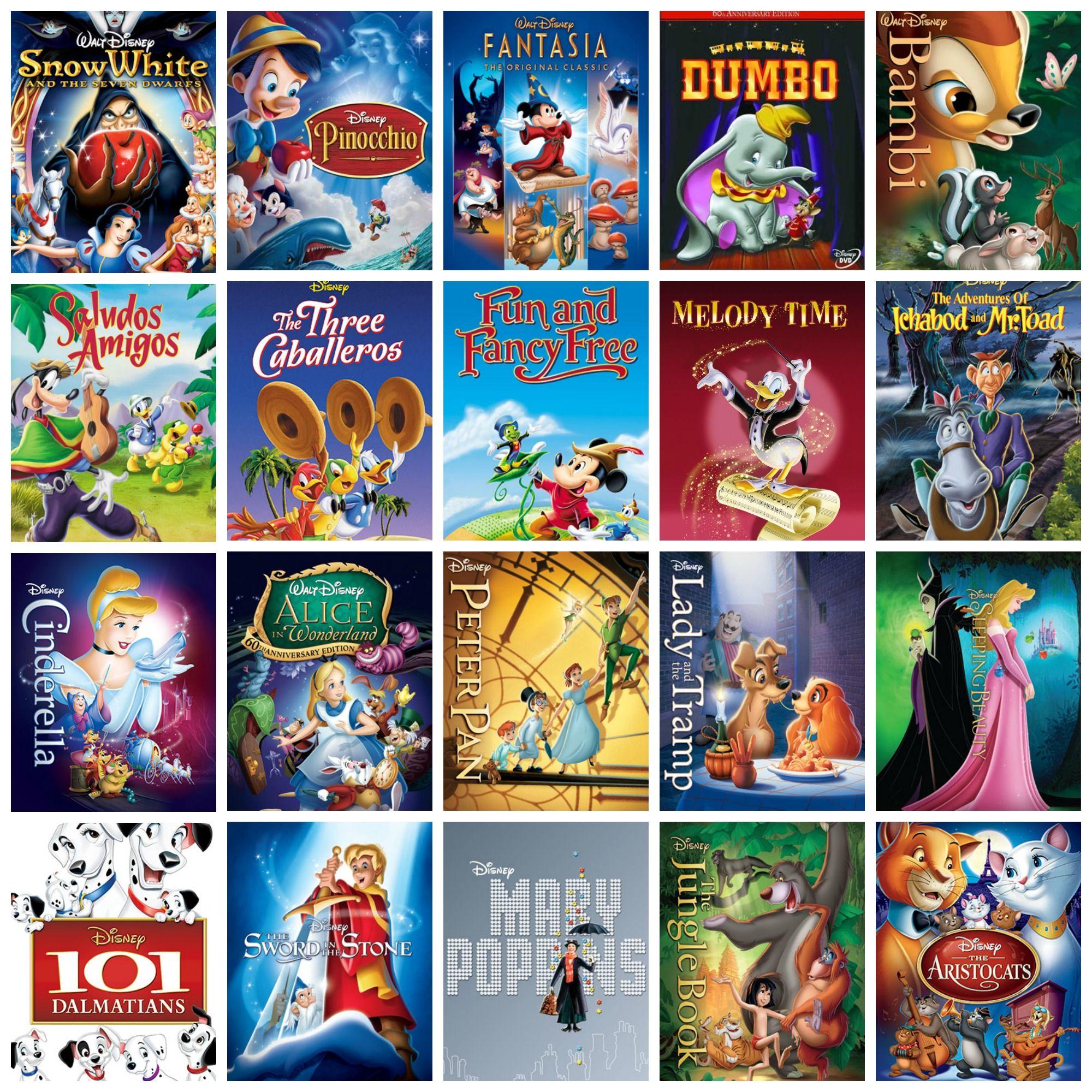 19371970 Disney movies in order of release. Disney Fan