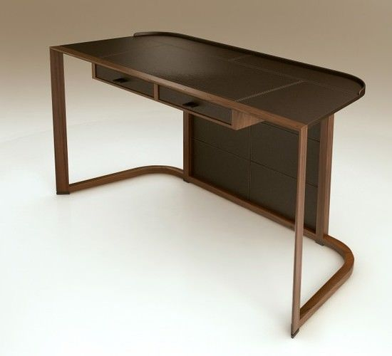 Ion desk 3D model Desk furniture, Table