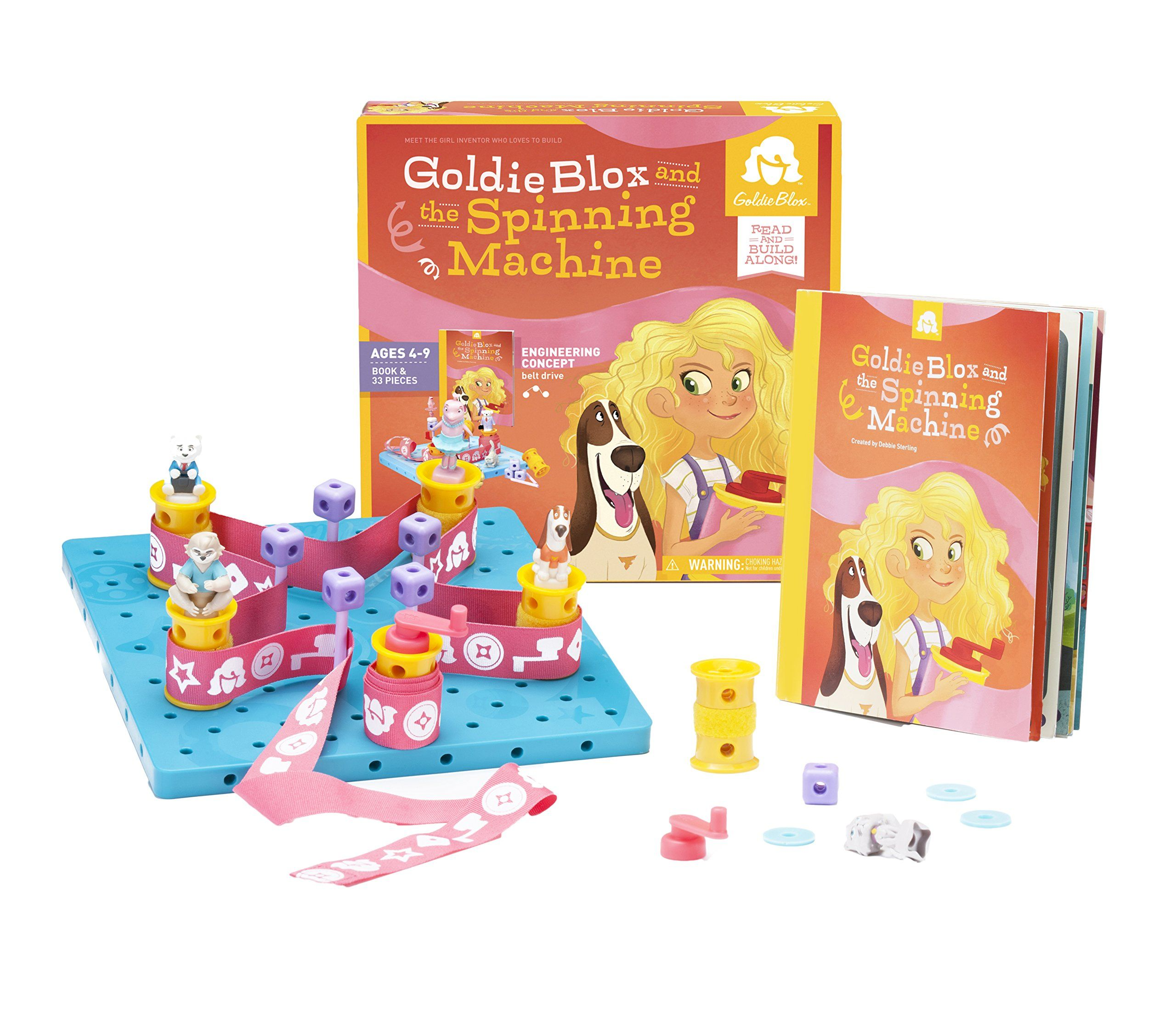 Amazon Gol Blox and The Spinning Machine Toy Toys & Games