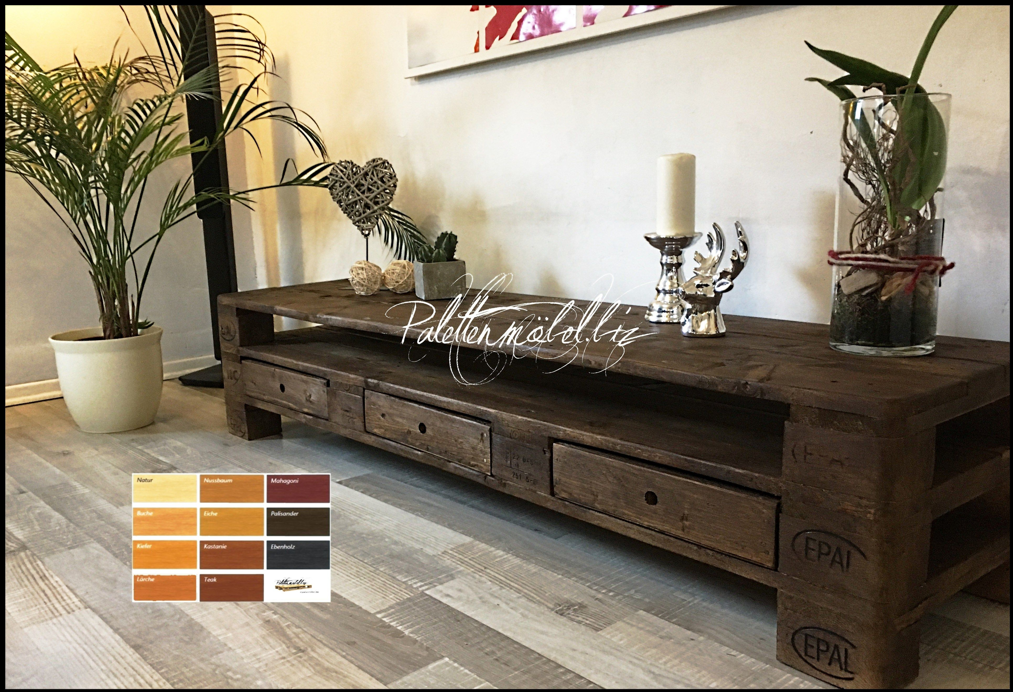 Palettenmobel Tv Sideboard Kommode Mit Einer Lange Von 180 Cm