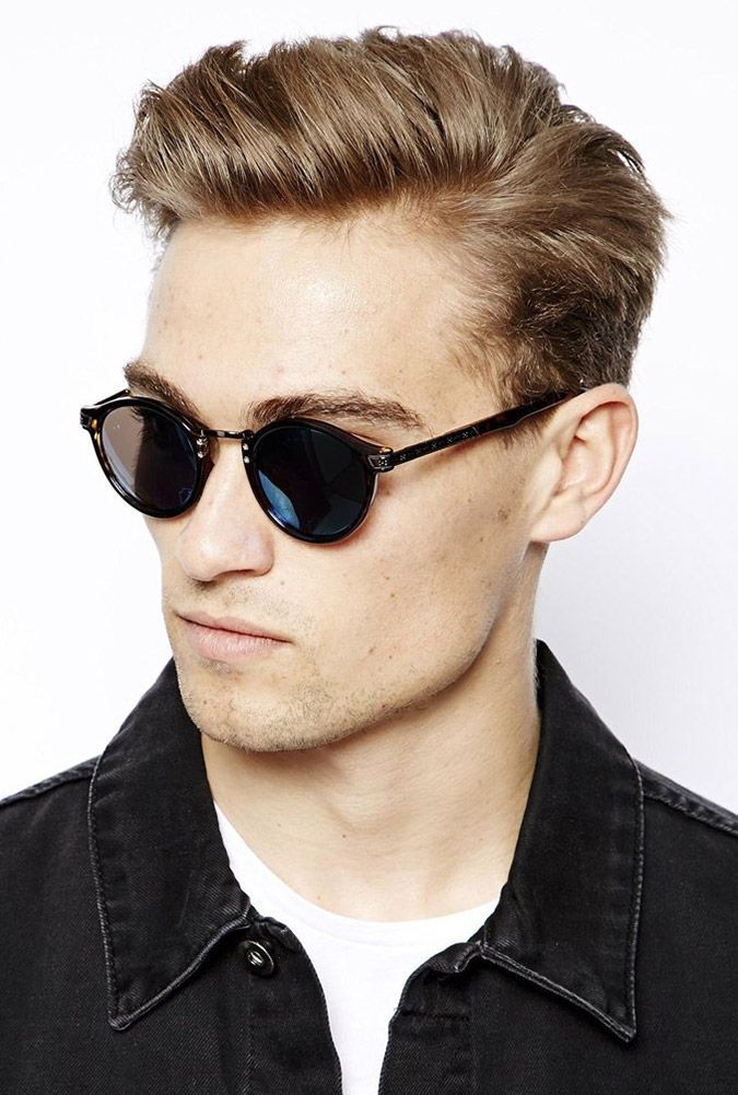 40 Favorite Haircuts For Men With Glasses Find Your Perfect Style Square Face Hairstyles Hairstyles With Glasses Round Face Haircuts