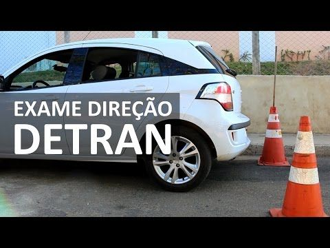 Exame De Direcao Carro Simulacao De Exame Detran Youtube