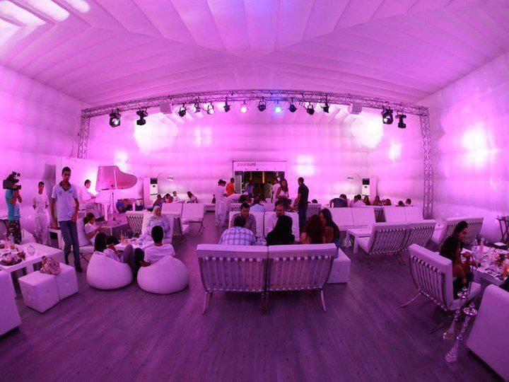 25m X 15m #CUBE #INTERIOR #Inflatable #Temporary #Structure ...