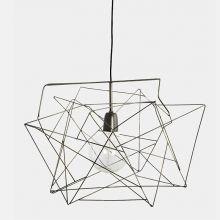 Lampenschirm Asymmetric Metallgrau von house doctor
