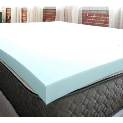 Alwyn Home Serene 3 Memory Foam Mattress Topper Bed Size Queen Memory Foam Mattress Topper Bed Sizes Mattress