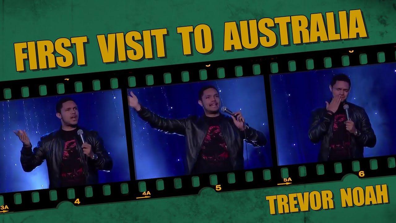 """First Visit To Australia"" Trevor Noah (Melbourne Comedy"