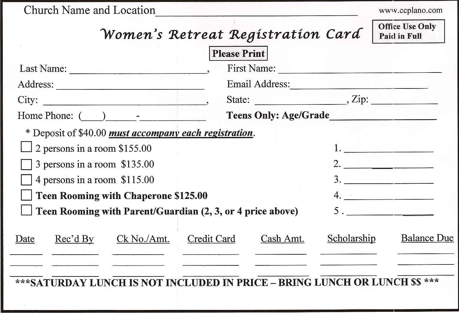 Pin On Card Template Sample church membership form template