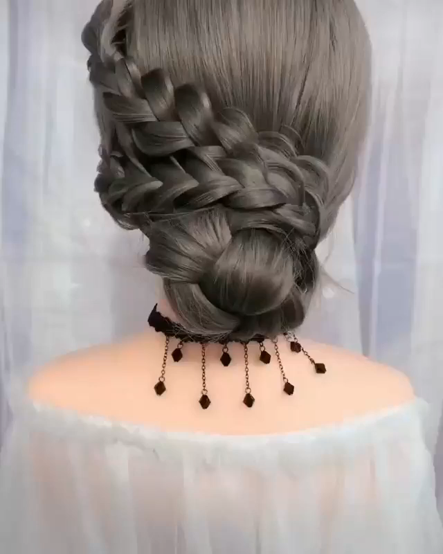 This Enchanting Hairstyle Video Will Blow Your Min