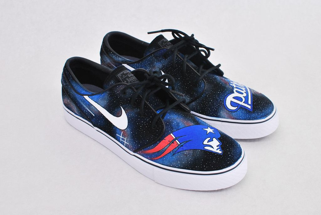 89ee794501 New England Patriots Stefan Janoski Sneakers | Custom Shoes ...