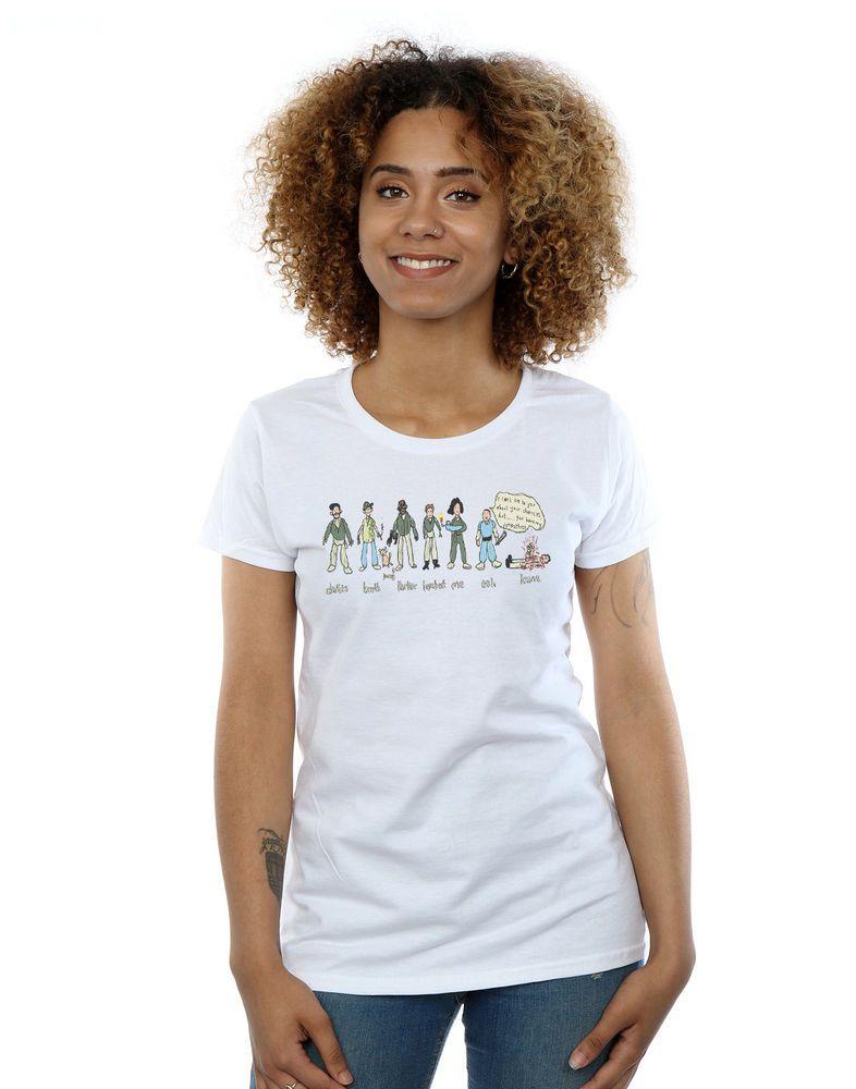 fff2124ed1d Alex Chenery Women's Nostromo Doodle T-Shirt #fashion #clothing #shoes # accessories