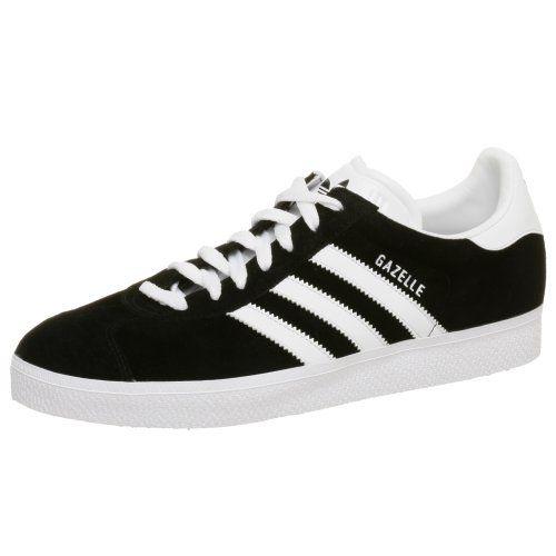 adidas originali uomini gazzella scarpa, black m adidas originali
