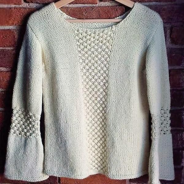 Miracle Twisted Sweater Pattern | Abrigos