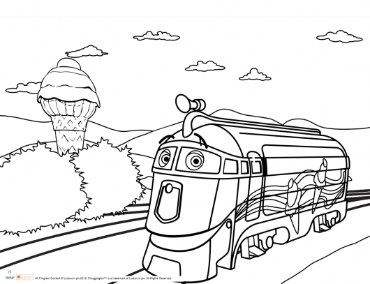 Chuggington Coloring Sheet