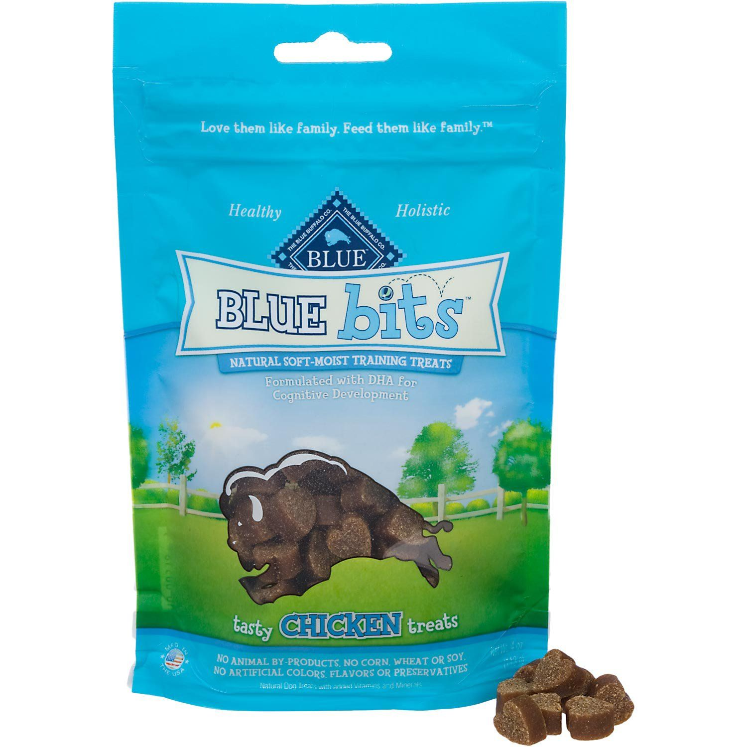 Blue Buffalo Blue Bits Tasty Chicken Soft Moist Training Dog