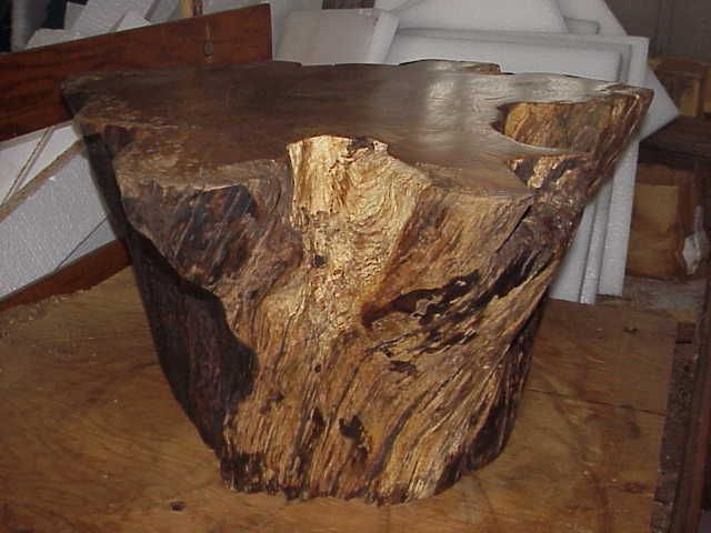 Tree Stump Coffee Table | Exhibitionmail.com