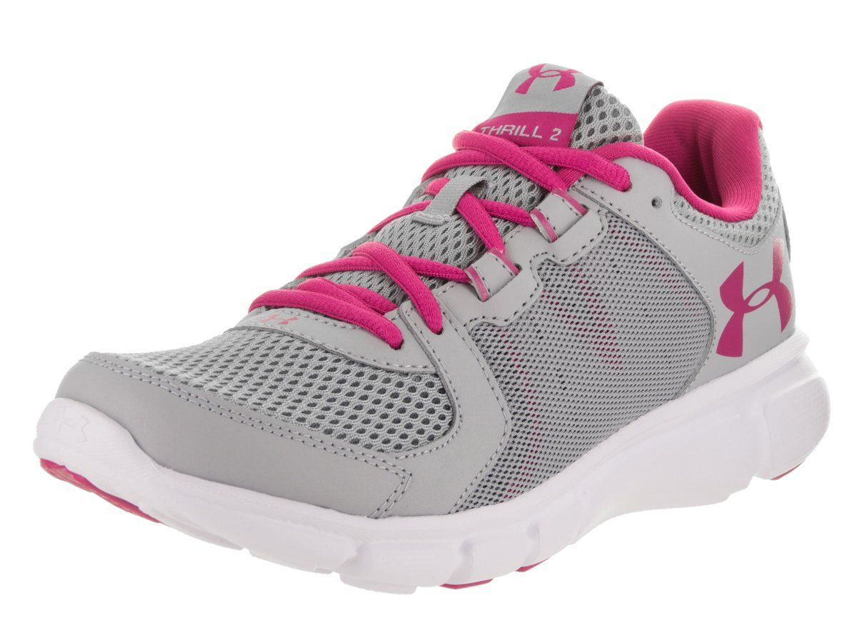 uk availability e825b 78459 Under Armour Thrill 2 Womens Running Shoes SS177 Grey ...