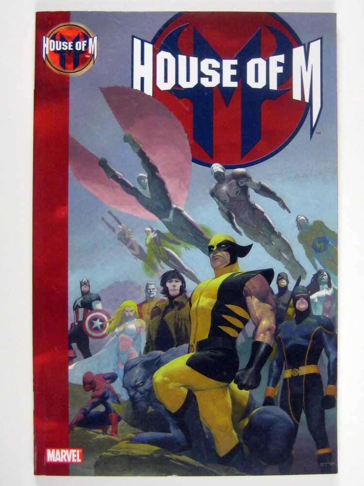 House Of M 2006 Paperback Good House Of M Marvel Comics