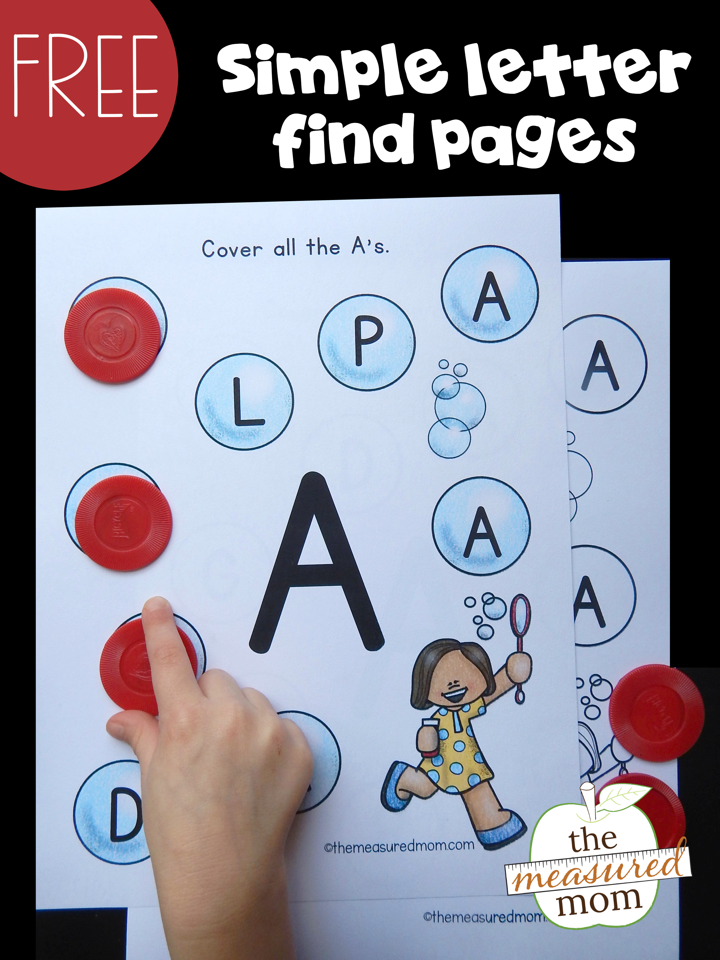 Free Simple Letter Find Pages