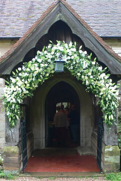 I wish I had a church like this. So pretty, like a little fairy tale cottage or something.