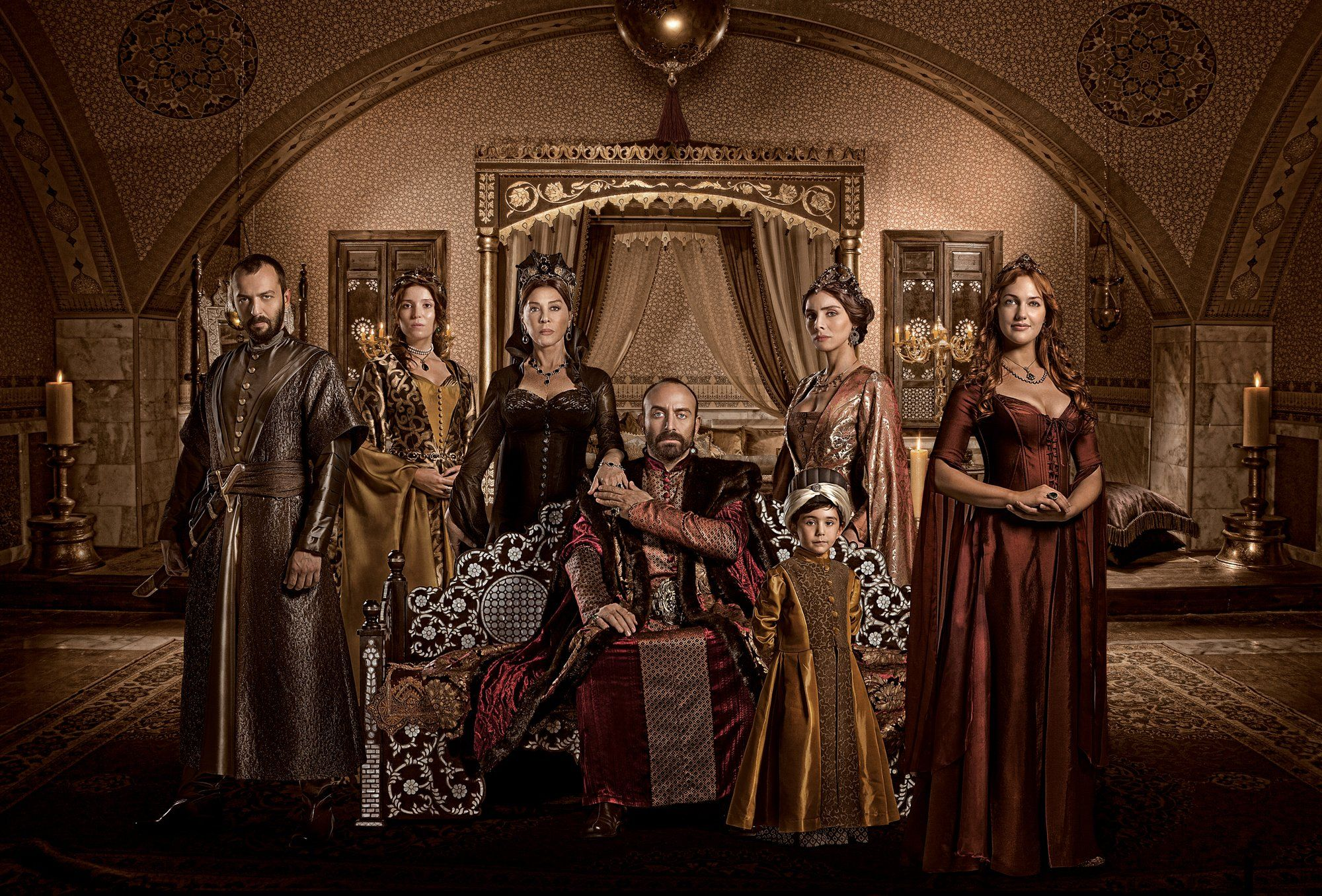 "Turkey's TV's soap opera, Muhtesem Yuzyil ""Magnificient"