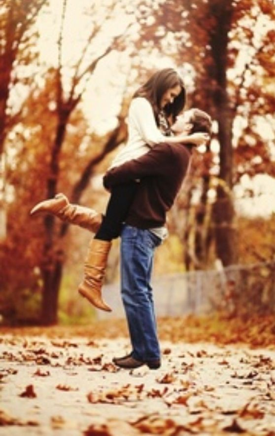 Love this pose for our fall engagement session!