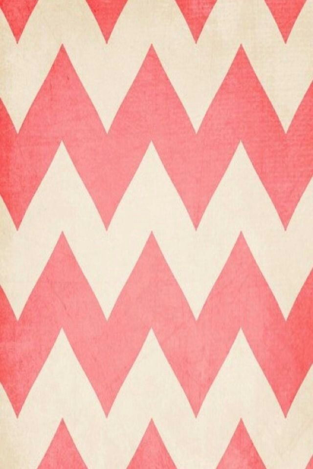Its a mix between pink and white how pretty My Cheveron patterns
