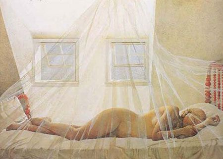 Wyeth, one of the Helga Pictures. Andrew Wyeth completed over 240 ...