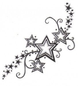Star Tattoo Random Pinterest Tatouage Tatouage Etoile And