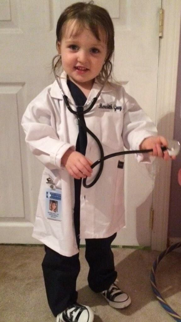 Meredith Grey From Greys Anatomy Kids Halloween Costume