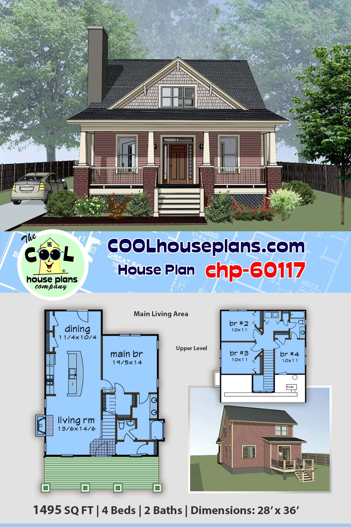 a traditional neighborhood style home plan offers a full