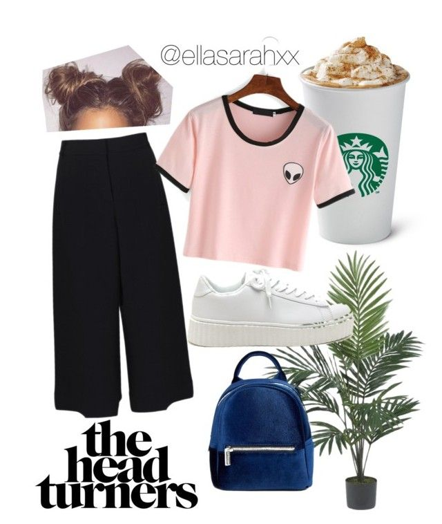 street chic by ellasarahxx on Polyvore featuring polyvore, fashion, style, TIBI, Skinnydip, Nearly Natural and clothing