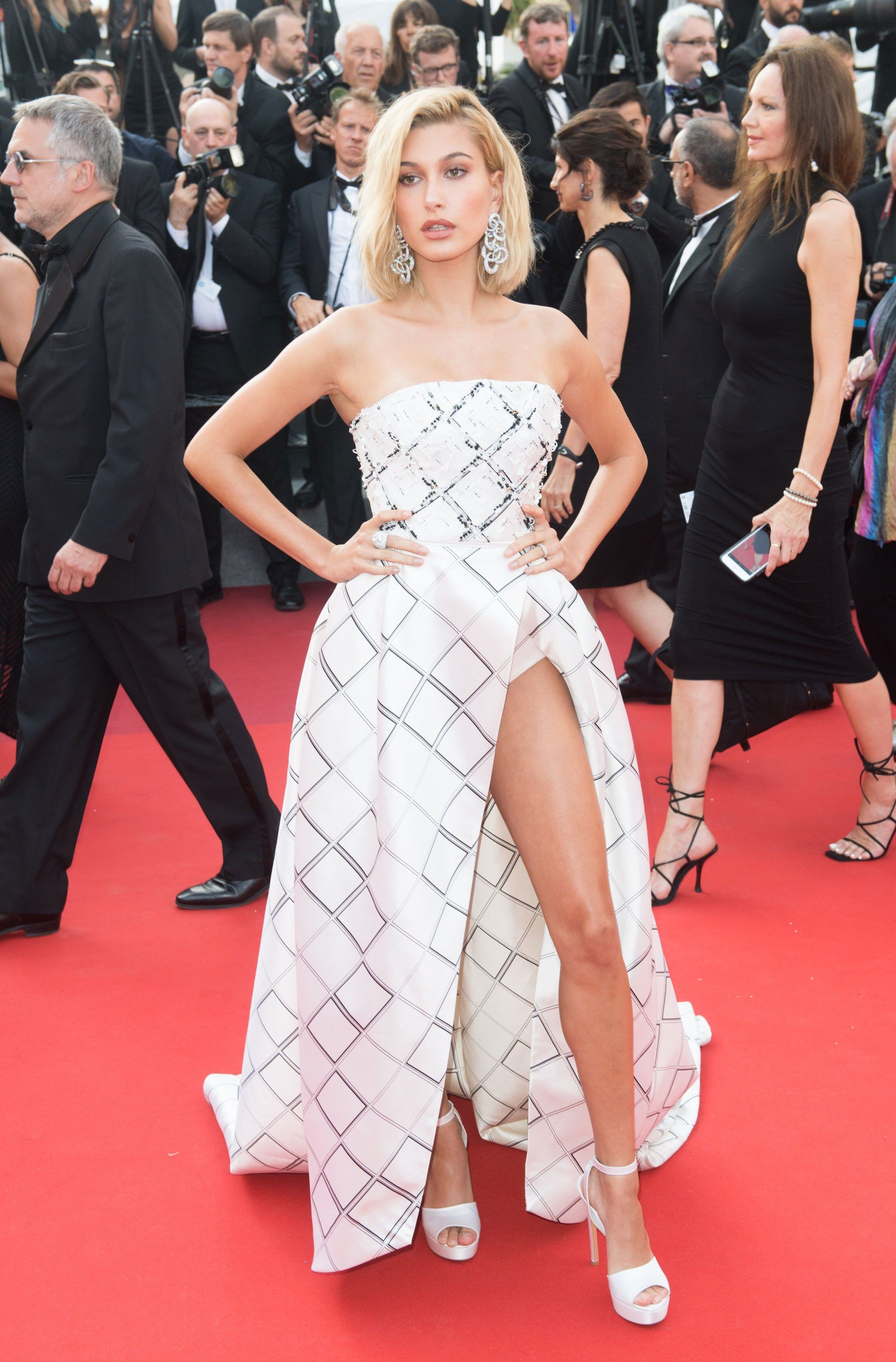 How a Bare, Bronze Leg Became a Cannes Red Carpet