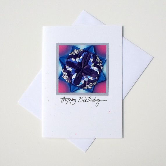 Greeting Cards Happy BirthdayBirthday Card OrigamiCool Origami Birthday CardsFine Art America CardsMandala