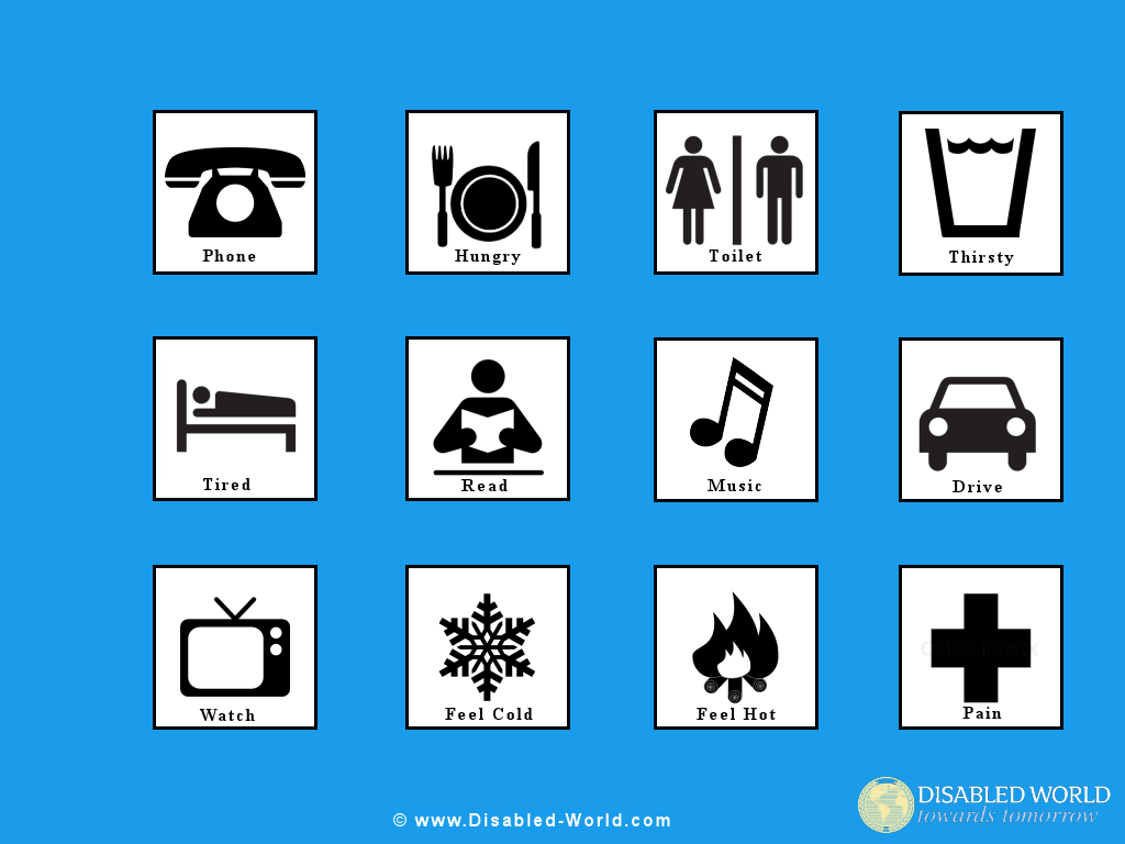 Disability Pictures Clipart Printables Wallpaper Signs
