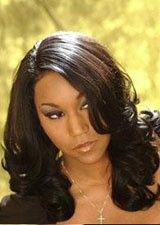 Beautiful Long Big Curl Virgin Remy Human Hair Full Lace Wig
