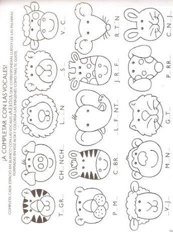 Varitas De Animalitos Artesanato Infantil Moldes De Animais