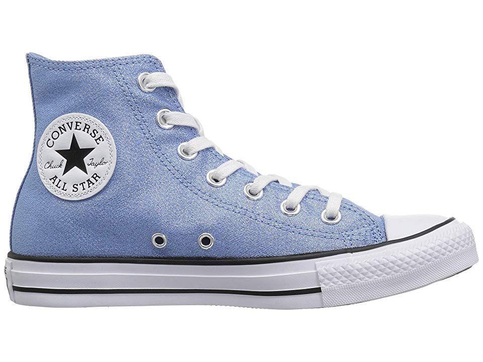Converse Chuck Taylor All Star Hi black white blue white