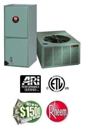 2 5 Ton 16 Seer Rheem Air Conditioning System Rapm030jez Rhllhm3617ja 2259 Heating And Air Conditioning Air Conditioning Services Air Conditioning System