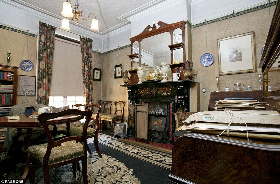 1920s home interior pics