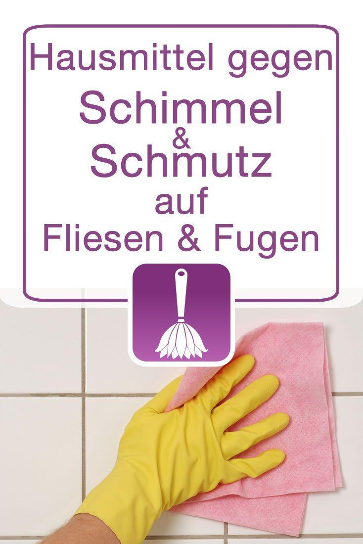 Hausmittel zur reinigung von fliesen und fugen schimmel und schmutz entfernen putzen tipps - Fliesenfugen reinigen schimmel ...