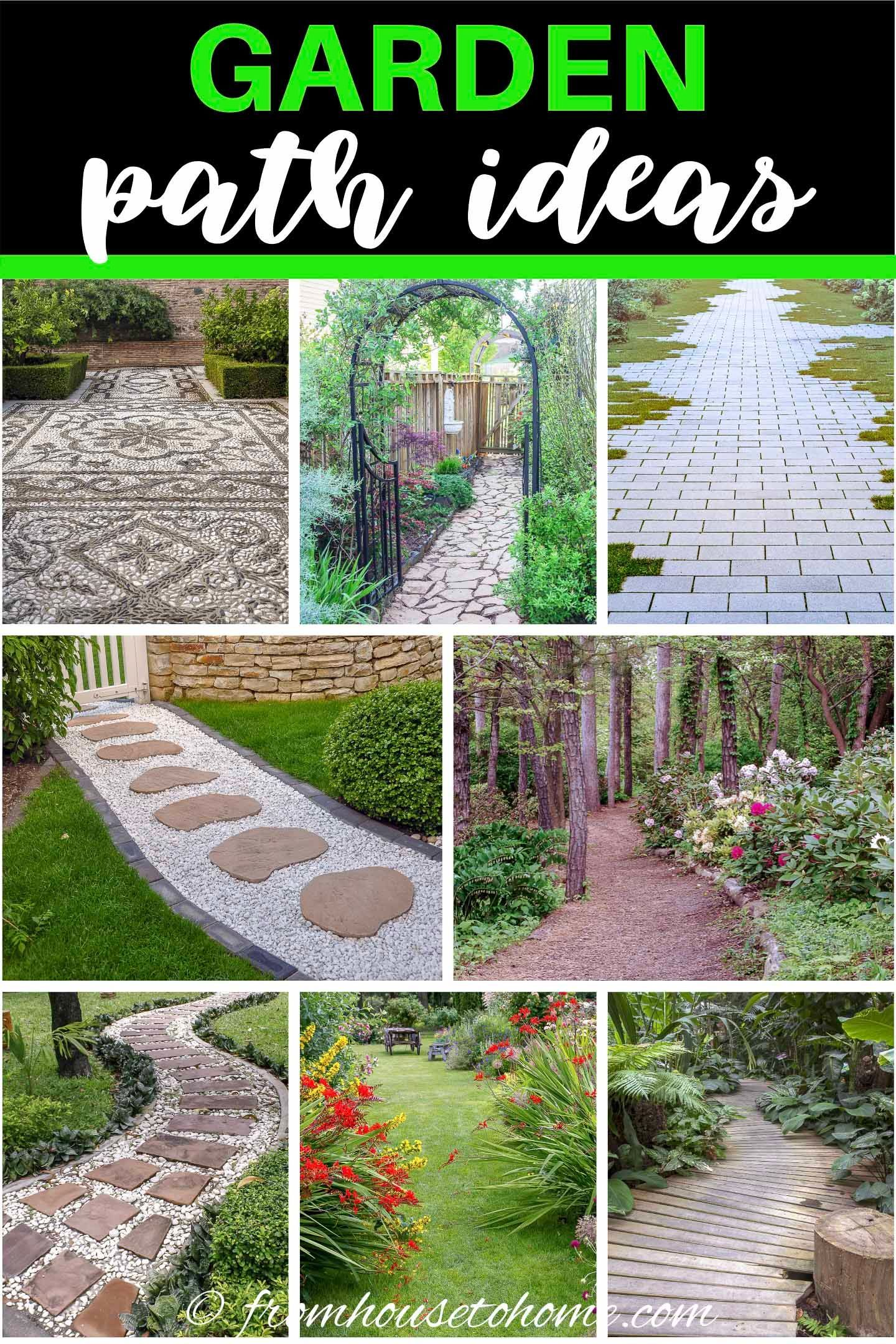 Garden Path Ideas 10 Ways To Create A Beautiful Walkway Garden