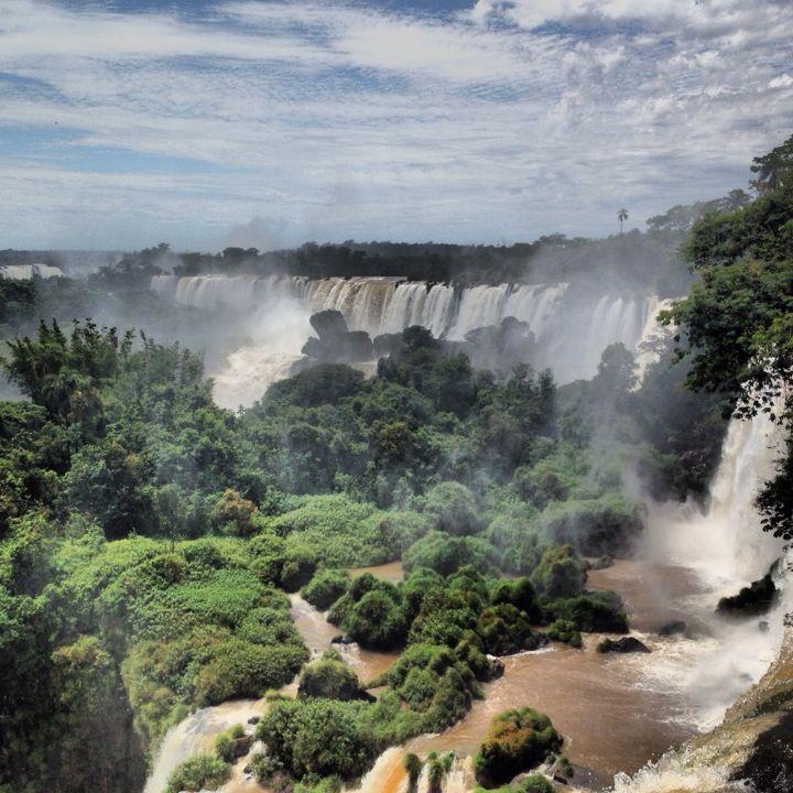 Iguazu Fall, Argentina in Pôrto Meira, Paraná/Brazil
