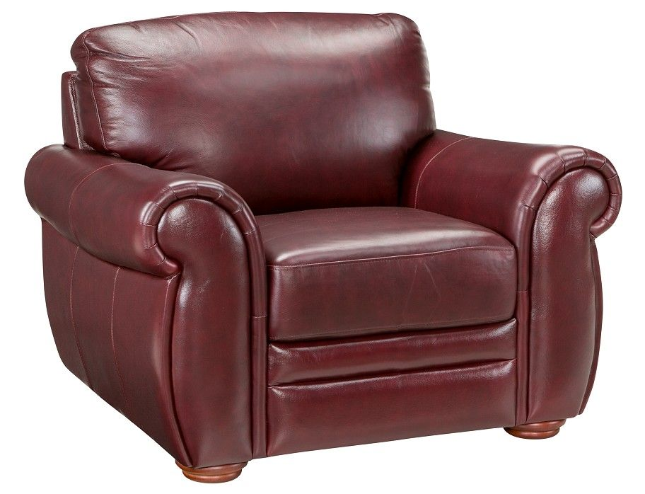 Slumberland Gallery Collection Burgundy Chair With Images