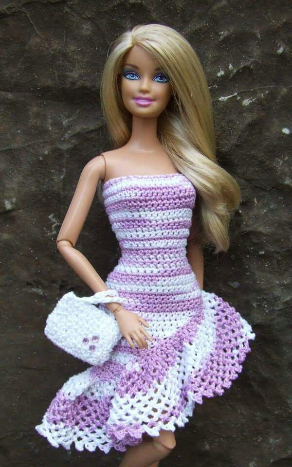 Little Known Ways To Make Doll Clothes Yourselves Crochet Barbie