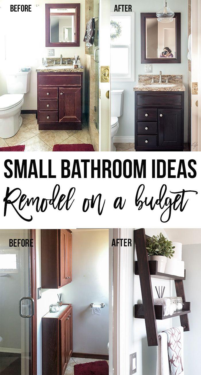 small bathroom remodel  ideas on a budget  anika's diy
