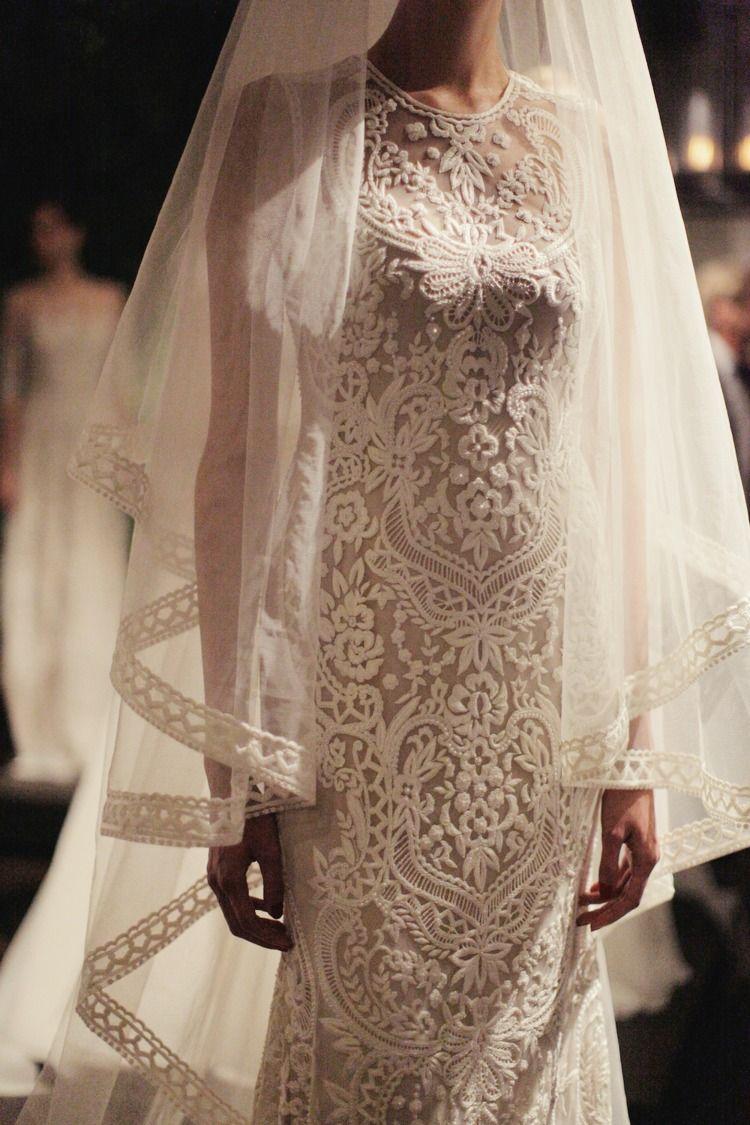 Bridal wedding pinterest naeem khan fans and wedding